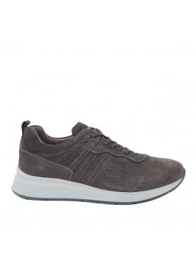 1200U scarpa sportiva uomo grigio NeroGiardini