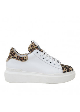 sneaker leopardata silk-ò