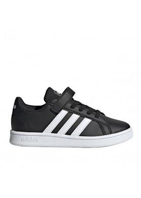 scarpa bambino adidas grand court nera EF0108