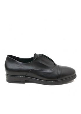 DEAN110 scarpa senza lacci donna nero Dei Colli