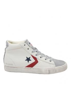 162745C sneaker alte uomo bianco grigio Converse