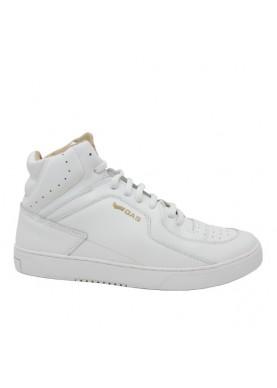 FREDDY sneaker alta uomo in pelle bianco GAS