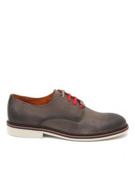 scarpa elegante uomo laserata color marrone Ambitious