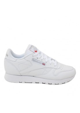 2232 classic leather bianco donna Reebok