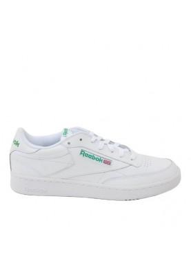 AR0456 club c 85 bianco verde uomo Reebok