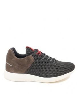 scarpa sportiva uomo ambitious in tessuto color grigio