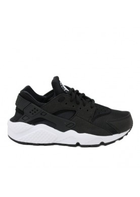 634835 air huarache run nero bianco Nike