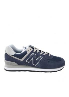 new balance ML574EGN sneaker blu uomo