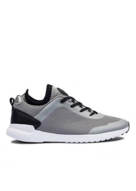 scarpa sportiva a calzino Colmar Shooter grigio