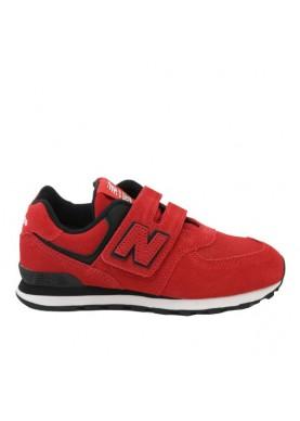 YV574EO new balance bambino rosso