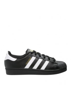 B27140 Adidas super star foundation nero
