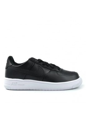 845128 air force 1 nero suola bianca Nike