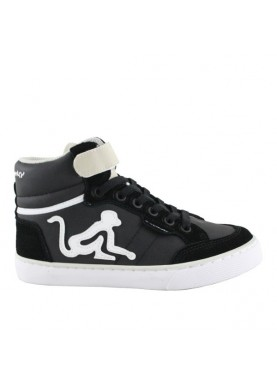 BCLASSIC sneaker bambino nero grigio drunknmunky