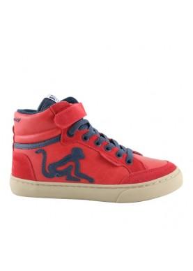BVITAMINIX sneaker bambino rosso blu drunknmunky
