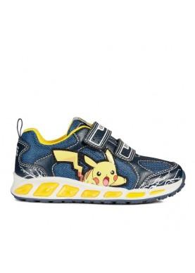 J8294C scarpa strappi pokemon blu