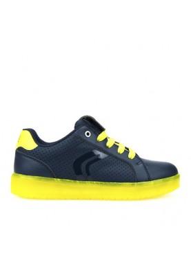 J745PB scarpa luci Geox bambino