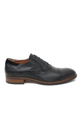 scarpa elegante uomo pelle nero nero giardini