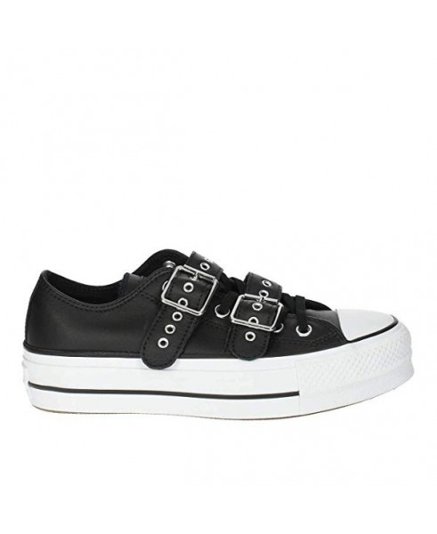 converse all star nere platform
