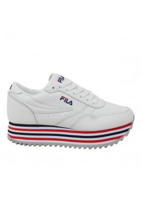 1010667 sneaker platform fila bianco