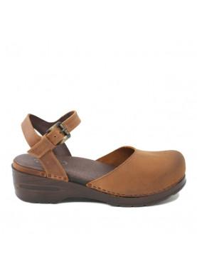 7945 sandalo zoccolo Glove cuoio