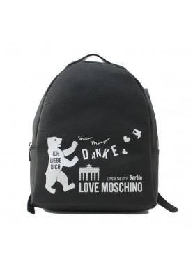 4101 zaino donna nero Love Moschino