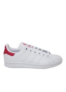 Adidas Stan Smith bianco fuxia