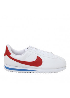 Nike Classic Cortez unisex bianco rosso