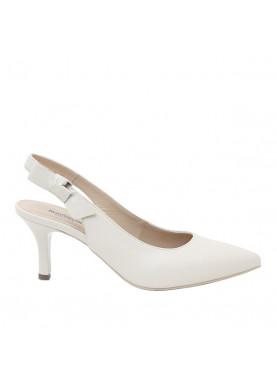 scarpa chanel nero giardini color beige