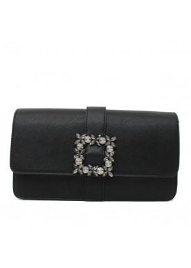 12400680 borsa pochette tracolla scervino nero