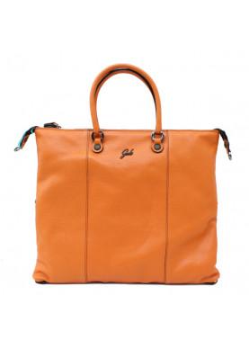 borsa gabs g3 plus L pelle arancione