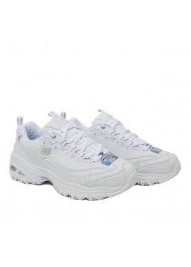 scarpa tipo Fila bianca donna skechers