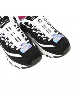 sneaker tipo FILA bianco nero skechers