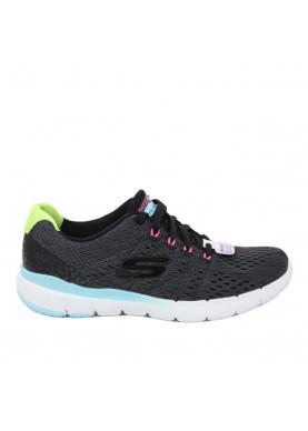 scarpa sportiva donna skechers nera