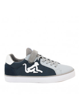 sneaker bambino drunknmunky blu grigio