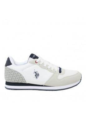 sneaker uomo bianco polo