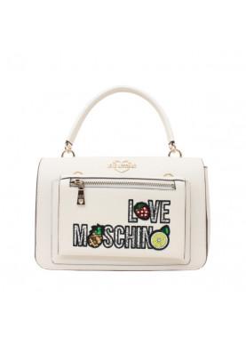 4278 borsa donna love moschino avorio
