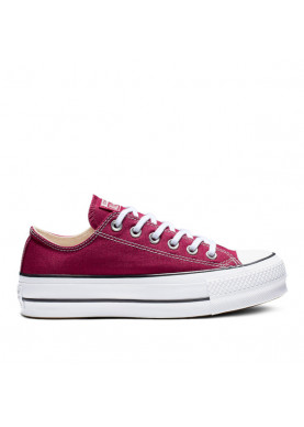 all star converse bassa platform bordeaux