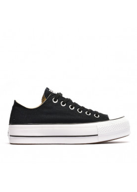 converse all star platform nero donna 560240C