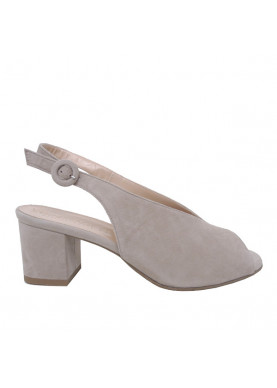 sandalo beige donna calzata comfort
