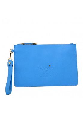 pochette blumarine blu elettrico