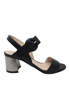 sandalo carmens nero tacco