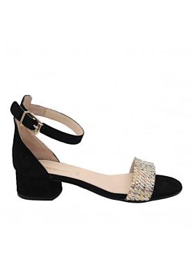 sandalo basso carmens nero donna