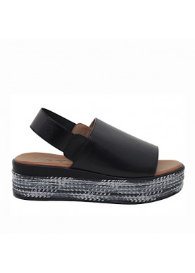 sandalo inuovo donna nero 117014