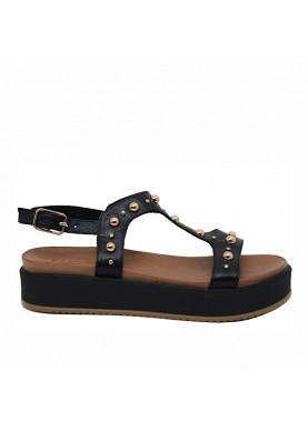sandalo inuovo donna nero 112013