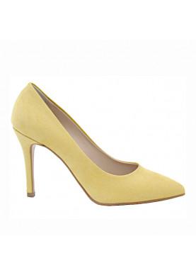 decoltè punta donna giallo
