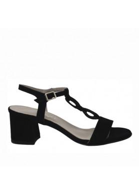 sandali tacco cinziasoft nero