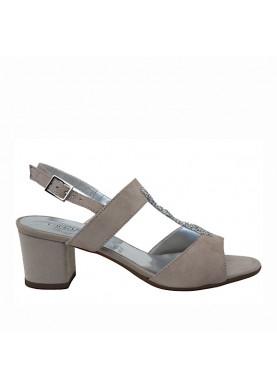 sandalo grigio cinzia soft