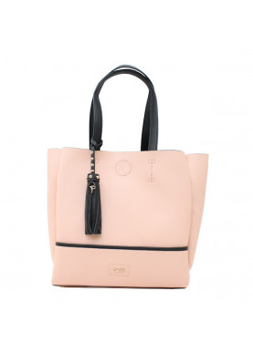 borsa a spalla donna gaudì rosa