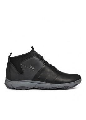 U724VA sneaker alta uomo geox color nero